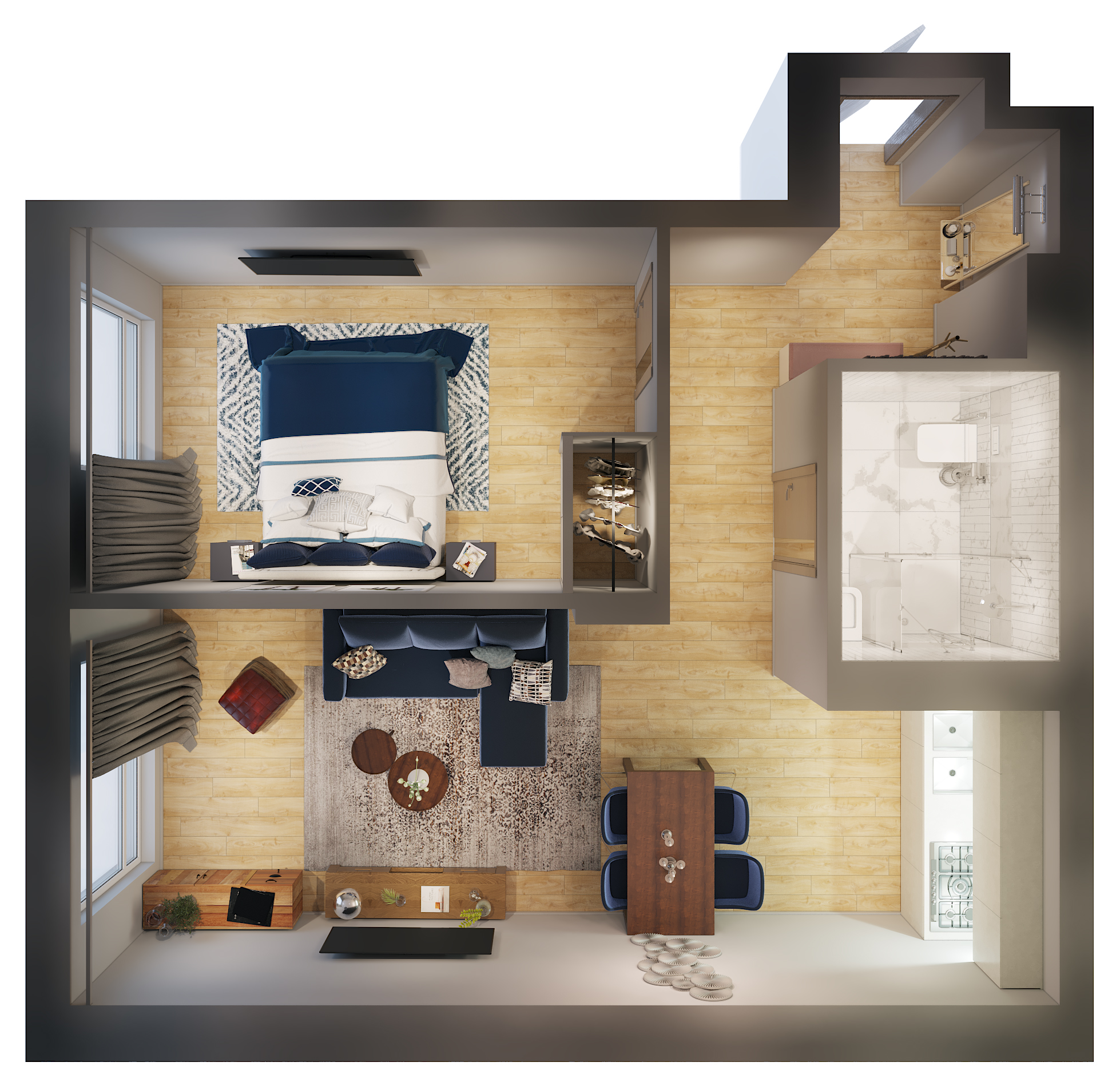 1 Bedroom Apartment Furniture Package